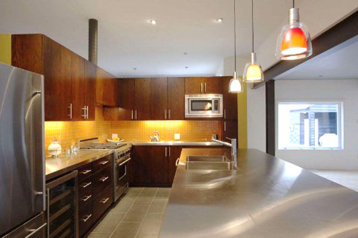 Elegante Und Ruhige Küche Beleuchtung Design Richtlinien | Küche ...