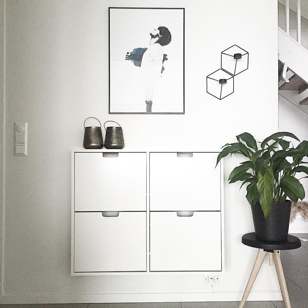 ikea 39 st ll 39 shoe cabinet interi r pinterest interiors hall and small hallways. Black Bedroom Furniture Sets. Home Design Ideas