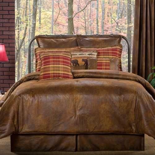 Victor Mill Gatlinburg King Comforter Set Rustic Bedding