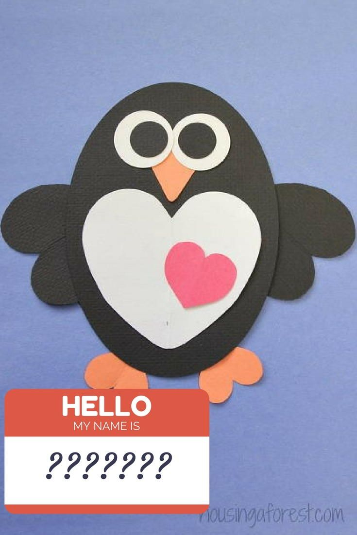 14++ Heart shaped penguin template ideas in 2021