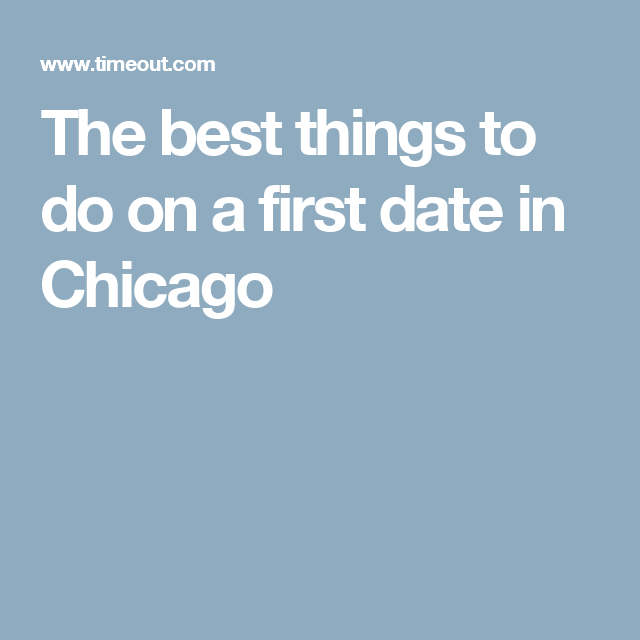 best things to do for first date