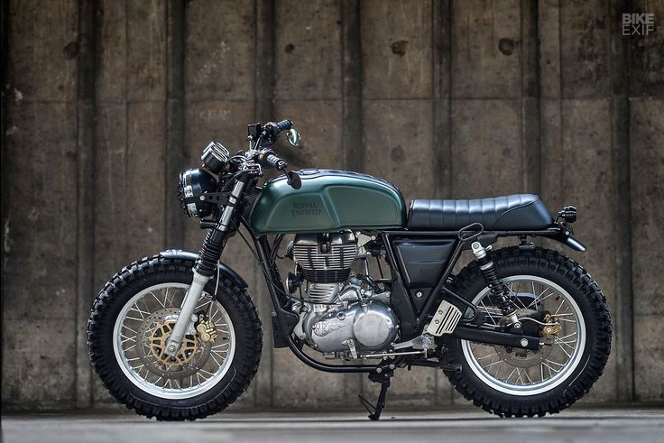 Photo of Custom Royal Enfield Continental GT Scrambler von K-Speed ​​- Doxe – …   -…