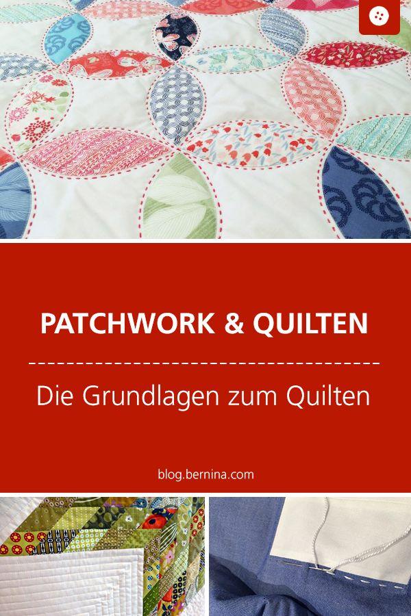 BERNINA Medaillon Quilt-Along / Die Grundlagen zum Quilten » BERNINA Blog