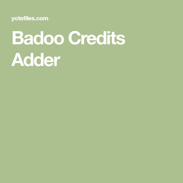 Badoo Credits Adder   Badoo, Credits, Incoming call screenshot