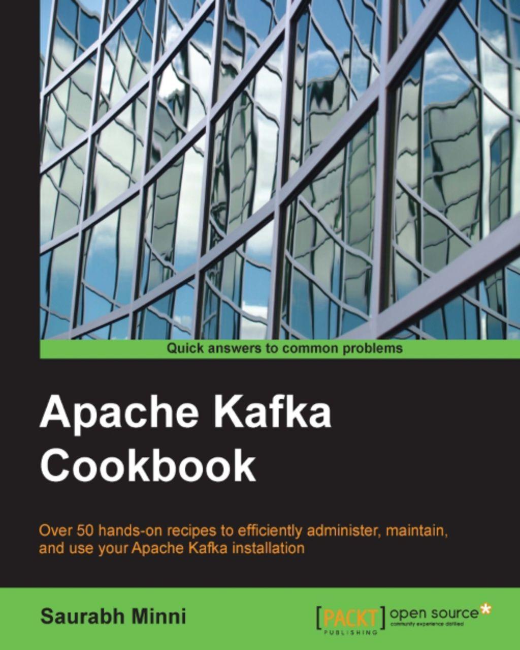 Apache Kafka Cookbook (eBook) in 2019 | Products | Apache