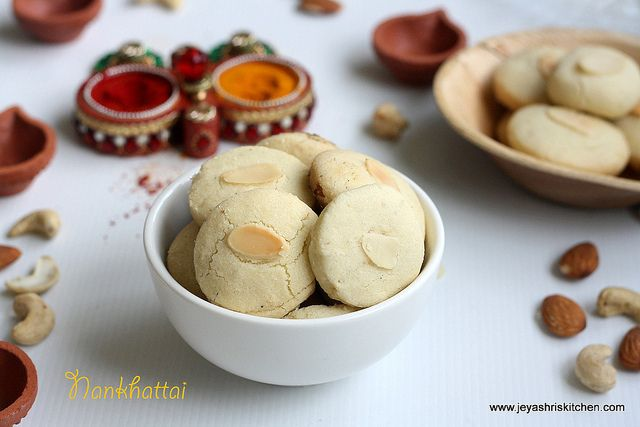 Photo of Nan khatai recipe | diwali sweets recipes | eggless indian cookies – jeyashri's kitchen