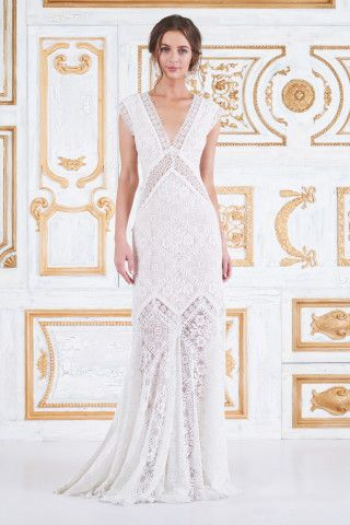 Tadashi Shoji Arabella Gown | wedding gown inspo | Pinterest ...
