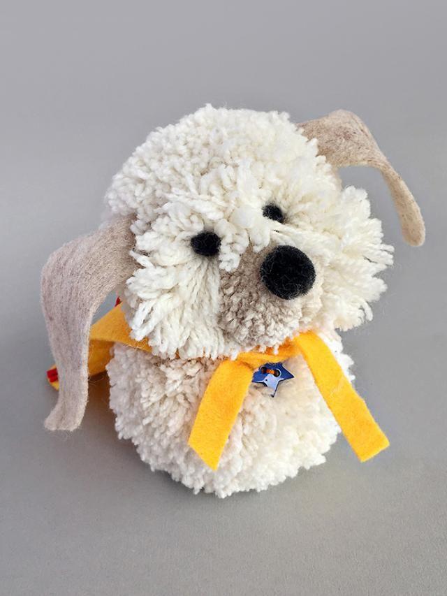 12 Kids Crafts for Dog Lovers: DIY Shaggy Dog