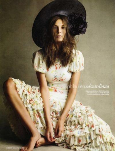 Daria Werbowy, Fashion, Patrick
