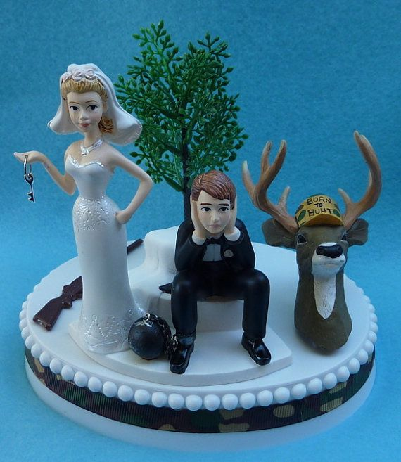 hunting themed wedding cake toppers wedding cake topper deer gun camo themed 16212