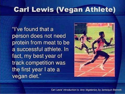 carl lewis weekly vegan diet plan