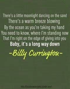 let me down easy – billy currington