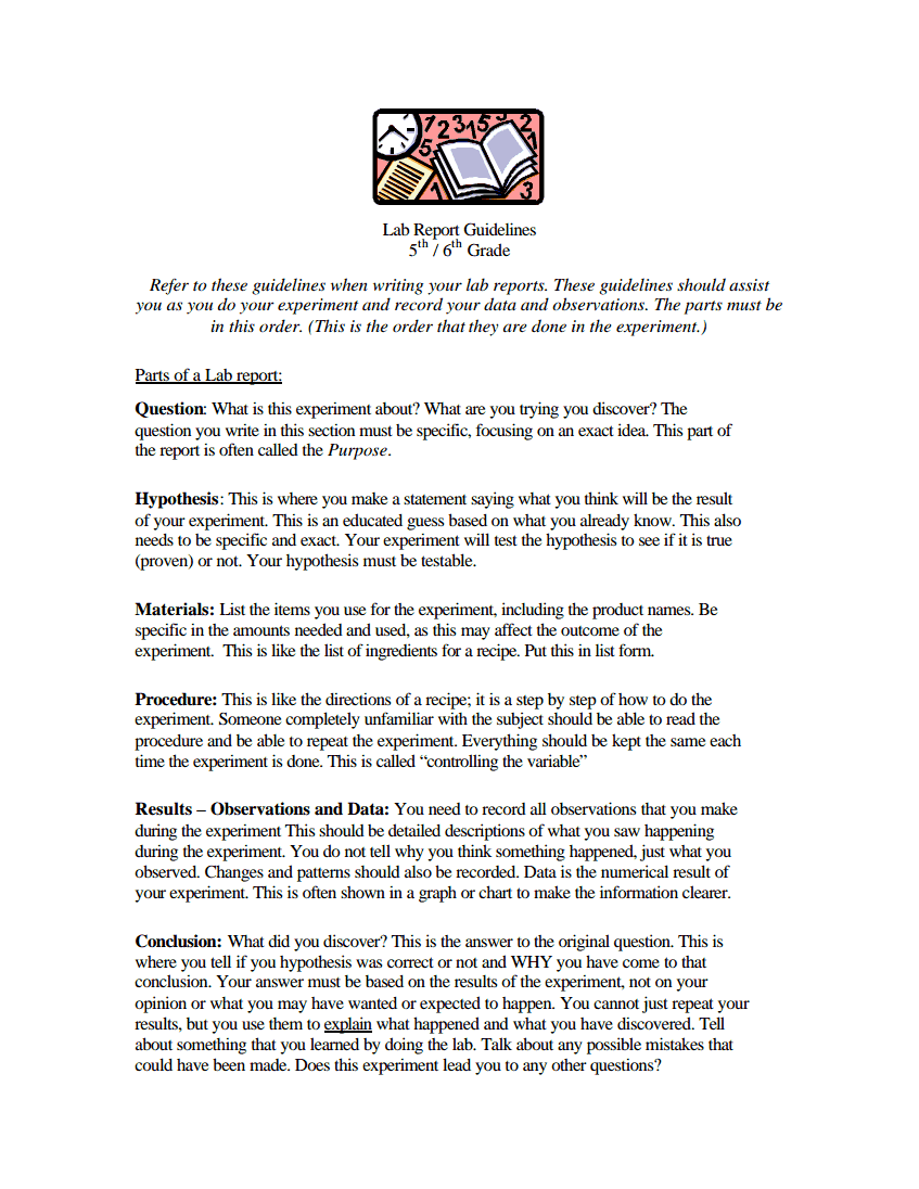 Uncategorized Scientific Method Worksheet Middle School the scientific method reading comprehension simple sample lab report