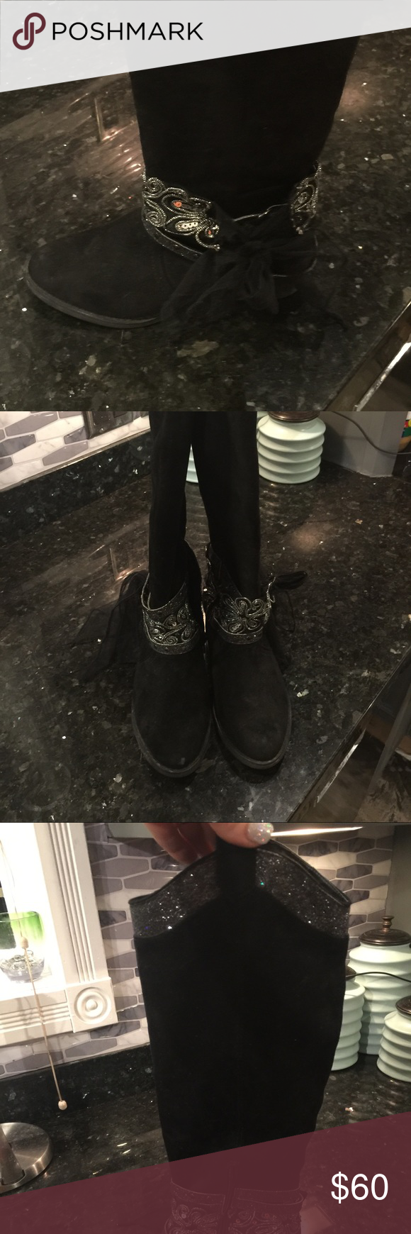 Note Rated boots Like new! Not Rated boots size 8 Not Rated Shoes Heeled Boots
