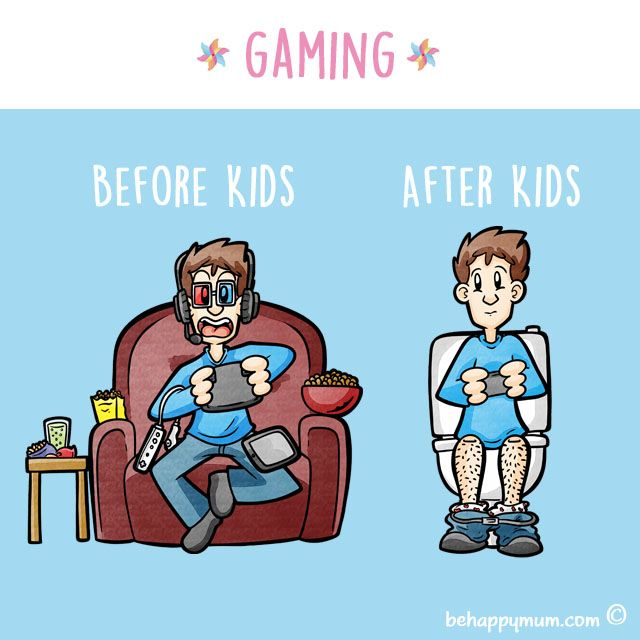 Oh how life changes when you become a Dad! Have a giggle at more from our Before & After Kids series here: http://www.behappymum.com/mum-support-and-wellbeing/before-after-kids/  #funny #parenting #fathersday #parentinghumour