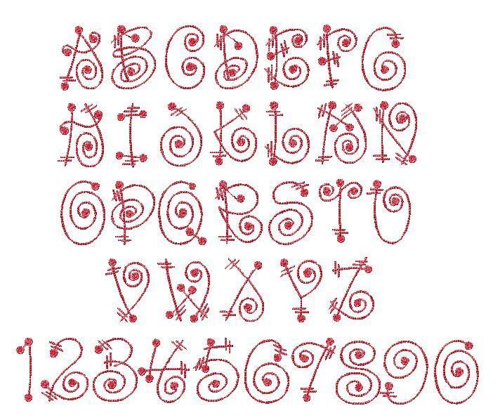 Cute Alphabet Single Letters Designs Alphabets\