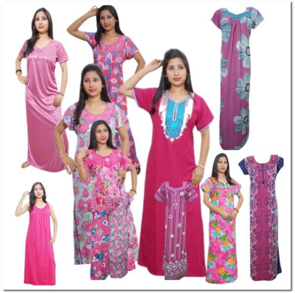 Women's Fashion Clothings: WOMEN PINK NIGHT DRESS COLLECTION  http://womansfashionclothings.blogspot.in/2016/04/women-pink-night-dress-collection.html #nighty #womensnighty #pinknighty #nightwear