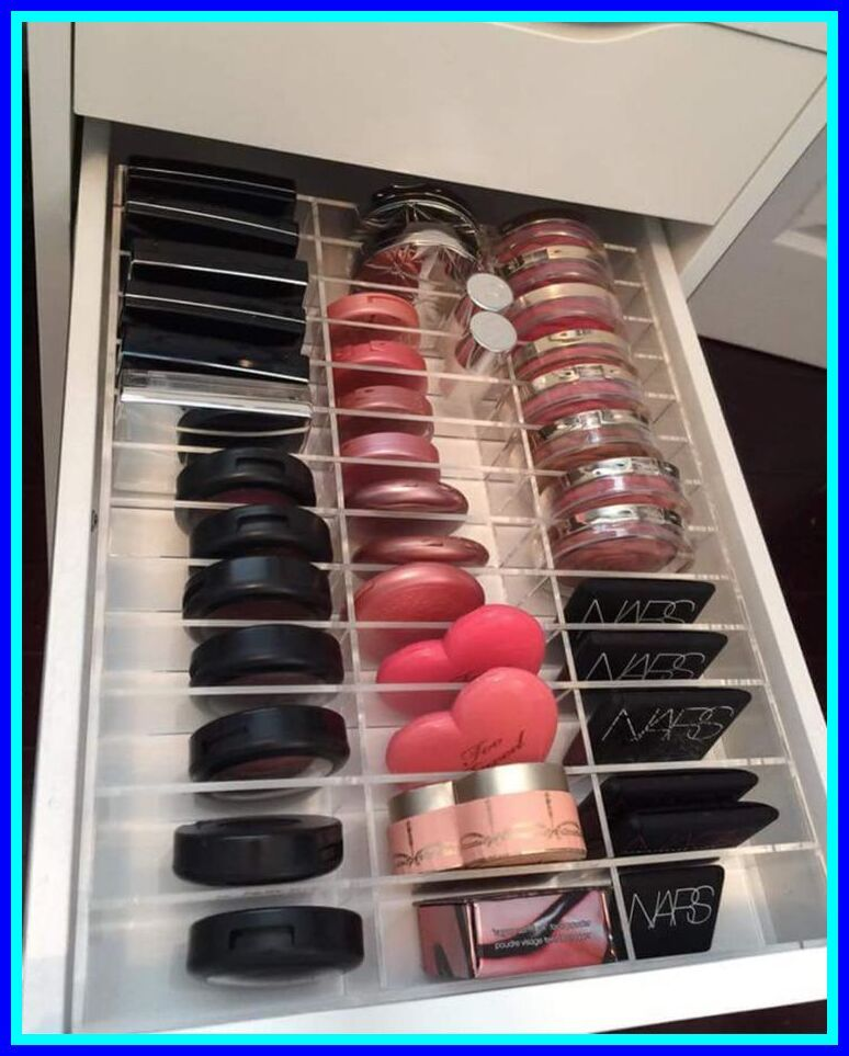 40 reference of drawer makeup storage unit in 2020