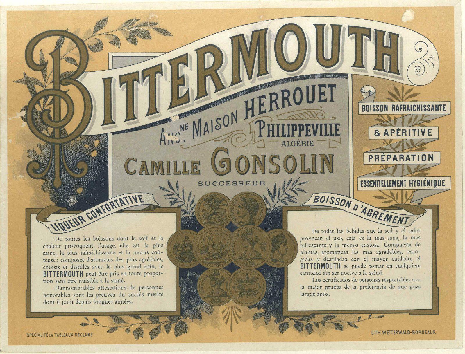 Bittermouth Herrouet-Gonsolin Philippeville