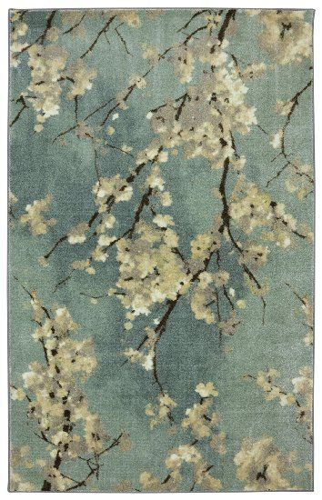 Amazon.com   STAINMASTER Cherry Blossoms Area Rug, 5 Feet By 8