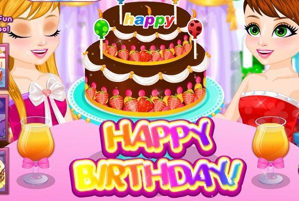 تحضير كيك عيد ميلاد للتوأم العاب بنات كوم Birthday Cake Cake Birthday