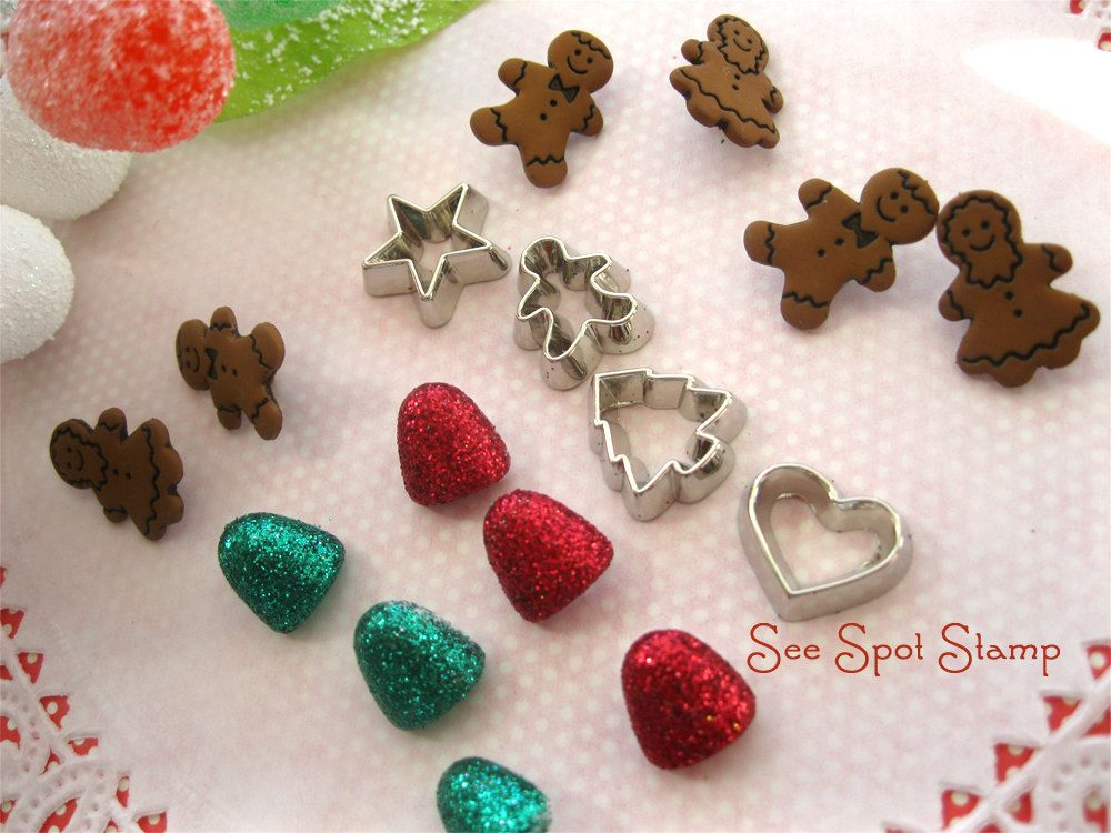 Christmas Charms Christmas cookie cutters Christmas buttons ...