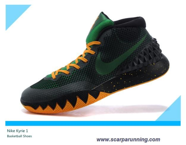 bagnato metodologia piazza  scarpe da basket 705277-005 Verde/Nero/Arancione Nike Kyrie 1 scarpe  firmate on line | Adidas shoes online, Mens nike shoes, Basketball shoes on  sale