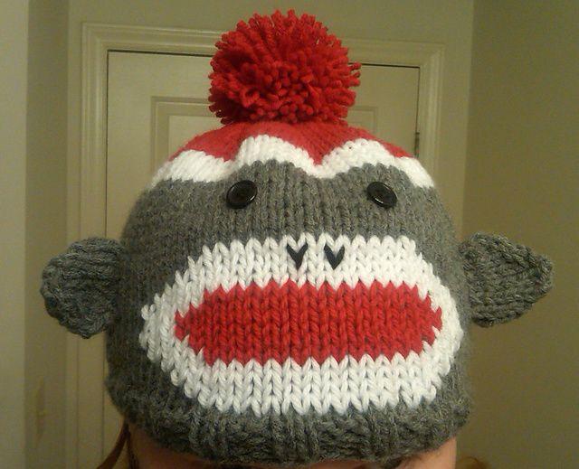 Ravelry Llcoopers Sock Monkey Hat Knitting Pinterest Sock