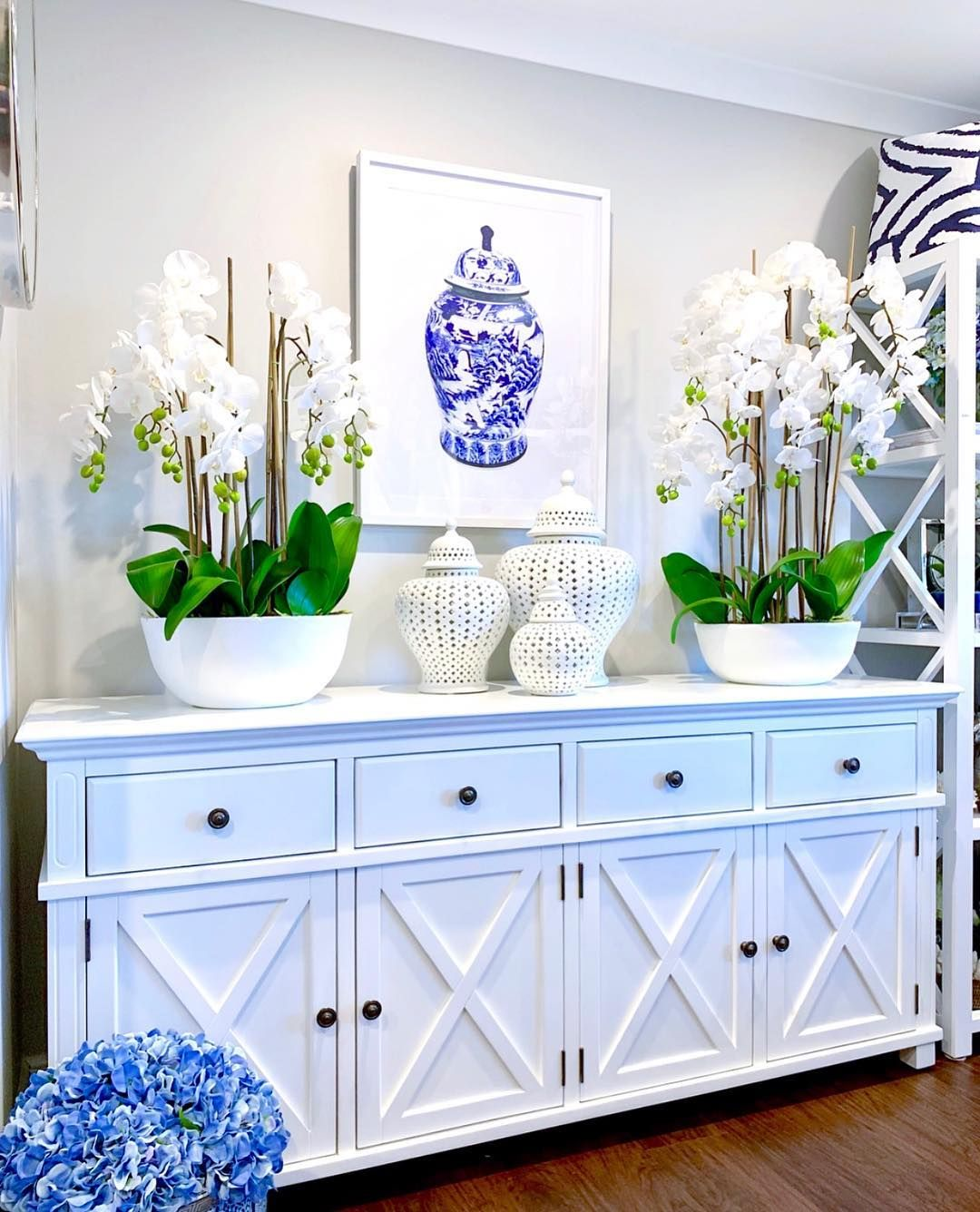 Hamptons Style Furnishings On Instagram With A Classic Chinoiserie Ginger Jar Design Our Newest Framed Print In 2020 Hamptons Style Living Room Decor House Interior #newest #living #room #designs