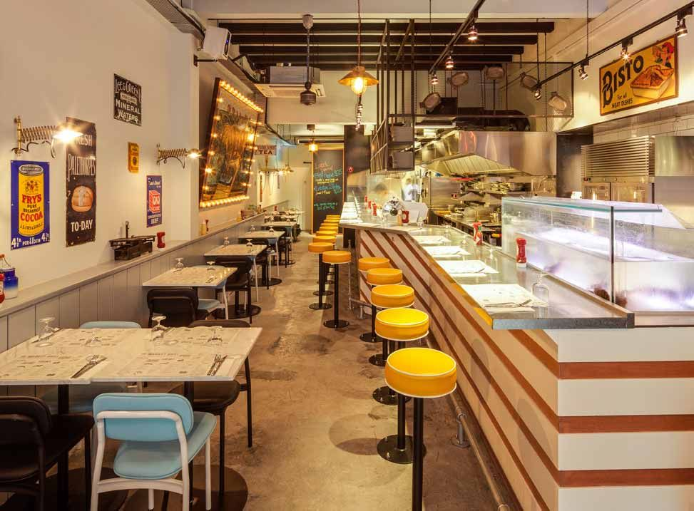 The Market Grill 208 Telok Ayer Street Casual Dining Restaurant Cafe Design