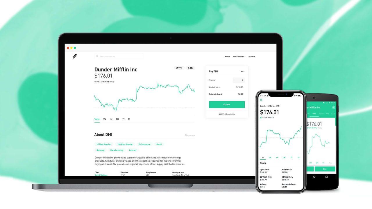 Stocktrading app Robinhood has grown to 3 million users