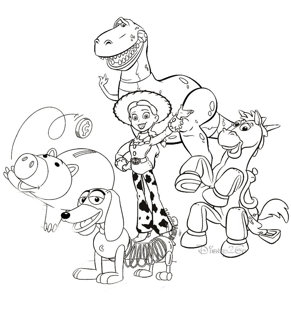 Uncategorized Toy Story Printable Coloring Pages coloring pictures pages com pinterest toy story 42 free printable pages