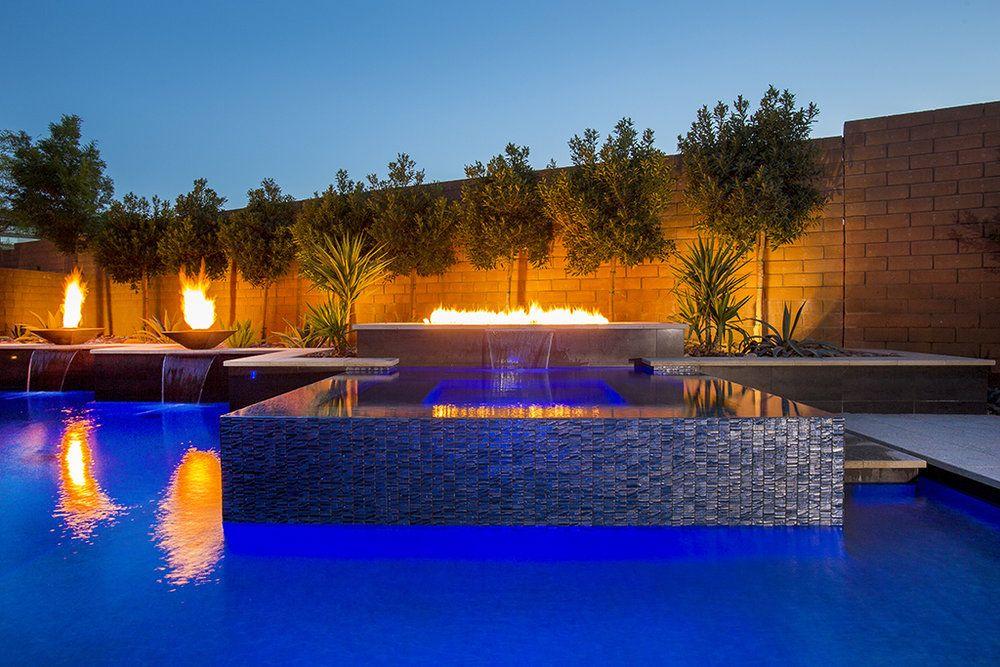California Pools Las Vegas Nv Info Californiapools Com 800 282 7665 California Pools Pool Outdoor Fire