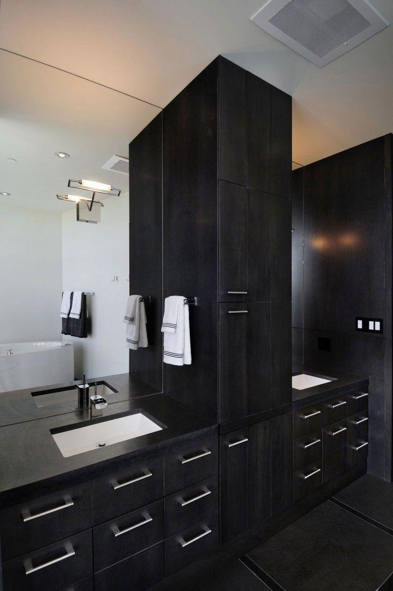 Modern Black Design Interior 910 Project By Smith Designs