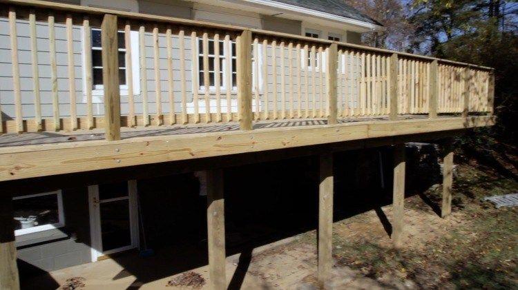 How To Build An Attached Deck Deck Building Plans Diy Deck Building A Deck