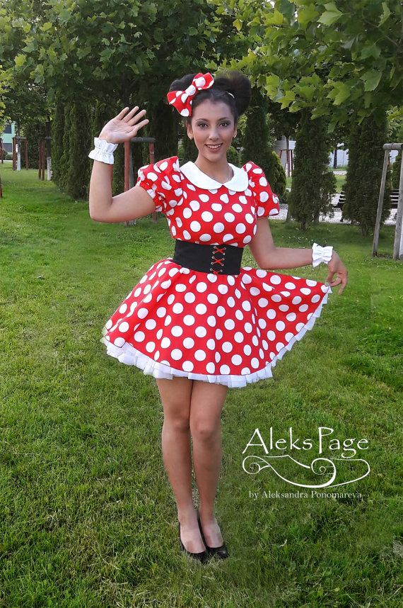1ae9f1a0bc760 Minnie Mouse Dress for Adult. Mickey Mouse Cosplay by AleksPage ...