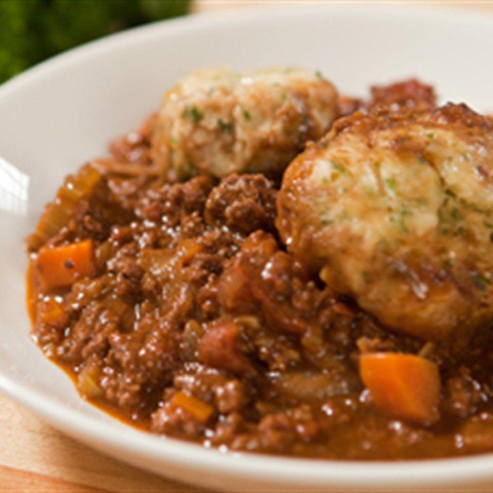 Mince And Dumplings Recipe Lifestyle Recipe Minced Beef Recipes Dumpling Recipe Hairy Bikers Comfort Food