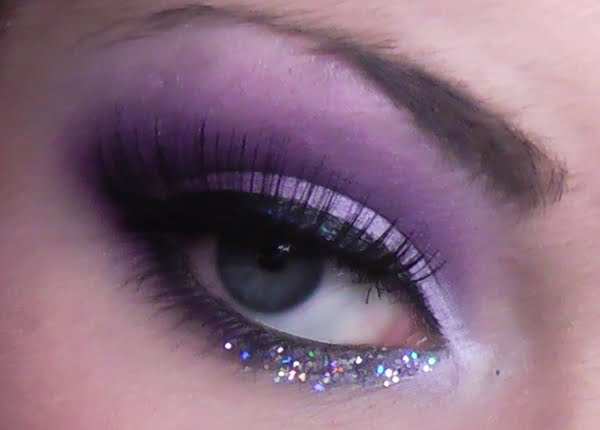 love the purple and the sparkles! Beauty Makeup and