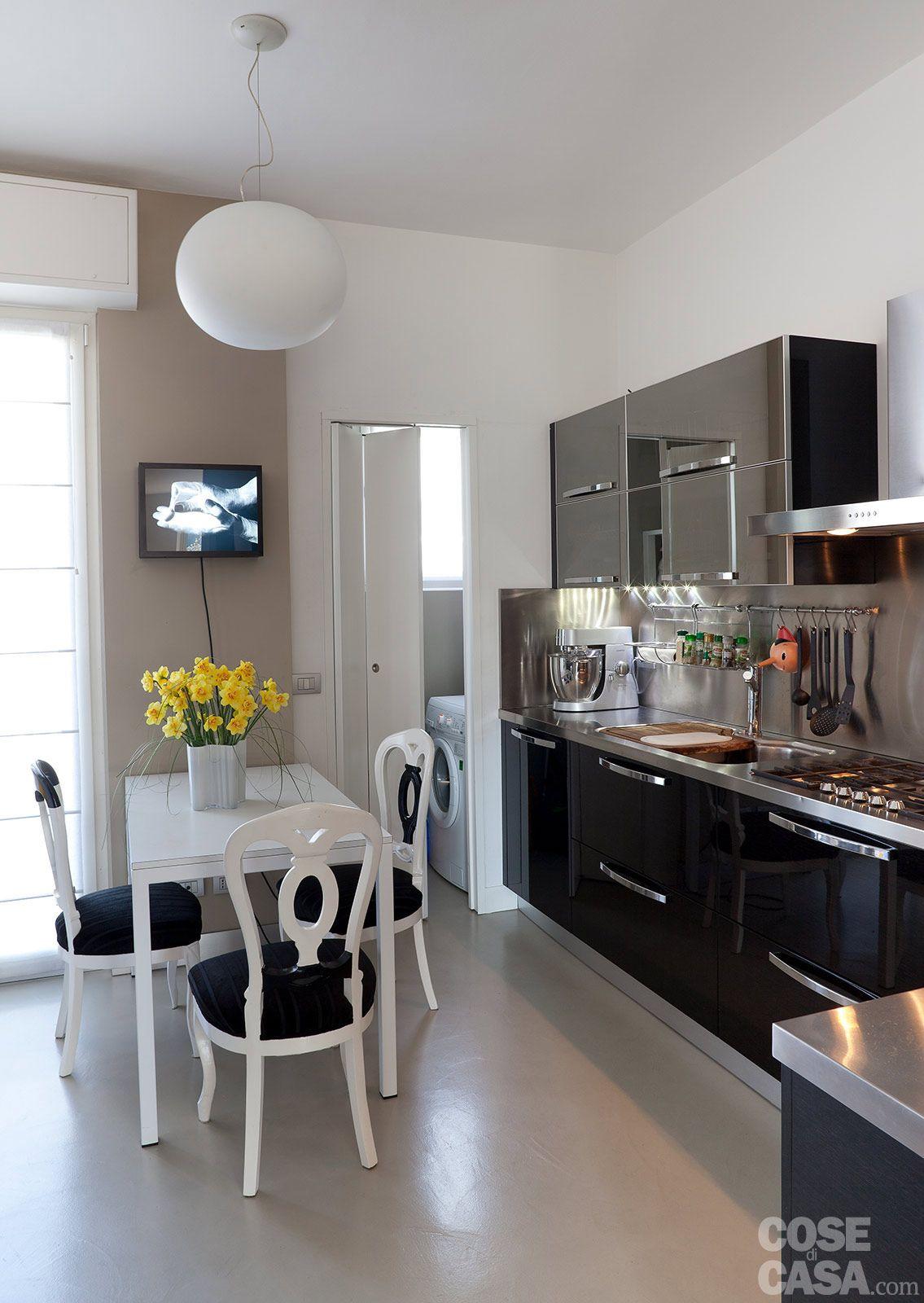 Cucina con accesso a piccola lavanderia   Cucina   Pinterest ...