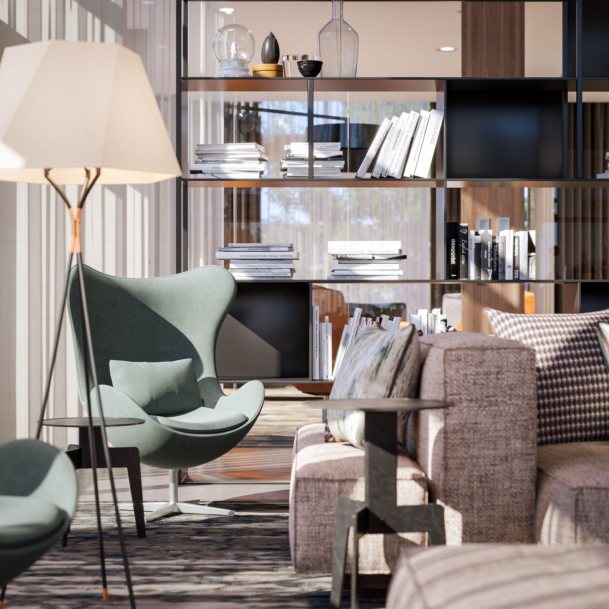 Check Out This Behance Project Ac Marriott Fair Oaks Https Www Behance Net Gallery 49938479 Ac Modern Living Room Interior Living Room Interior Interior