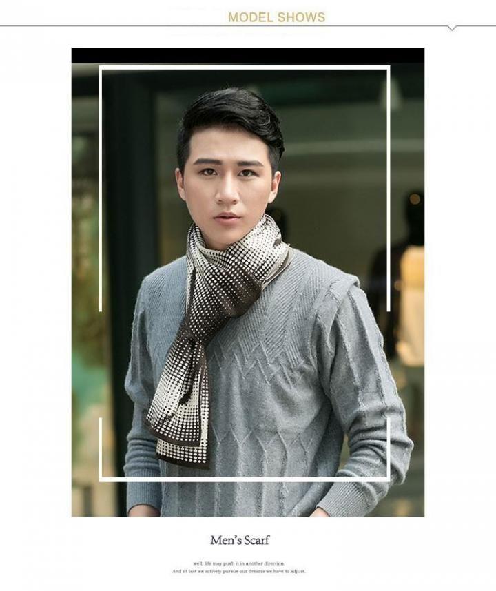 bbc1838d43b Winter Fashion Gradual change Men Scarf wool Blends Warm Scarves Man Long  Casual Shawls WJ-M611