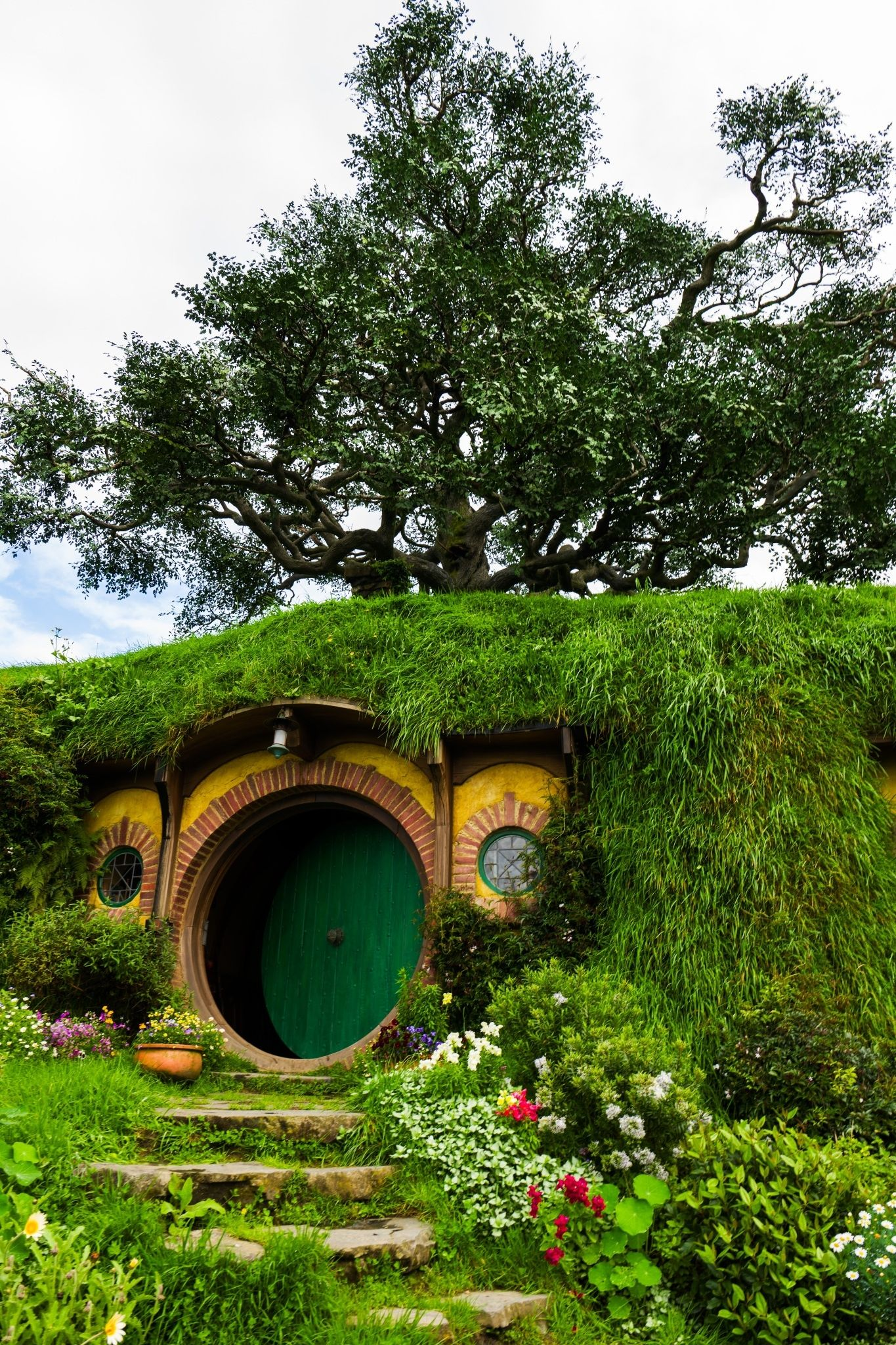 Outdoors New Zealand Hobbit House