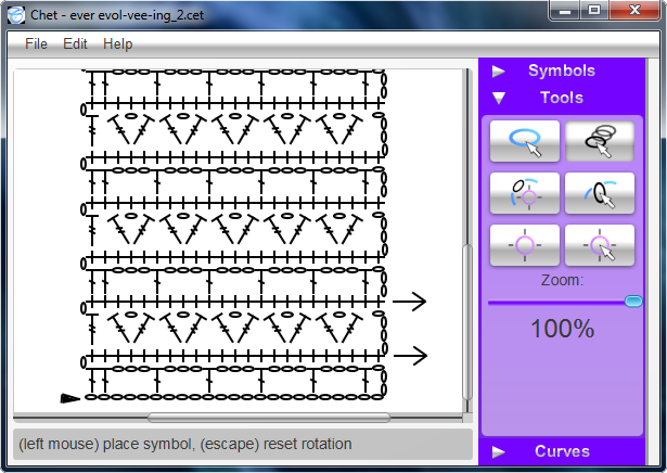 Chet is a fully featured application that facilitates the creation chet free software for making crochet charts site has a detailed tutorial for using ccuart Choice Image