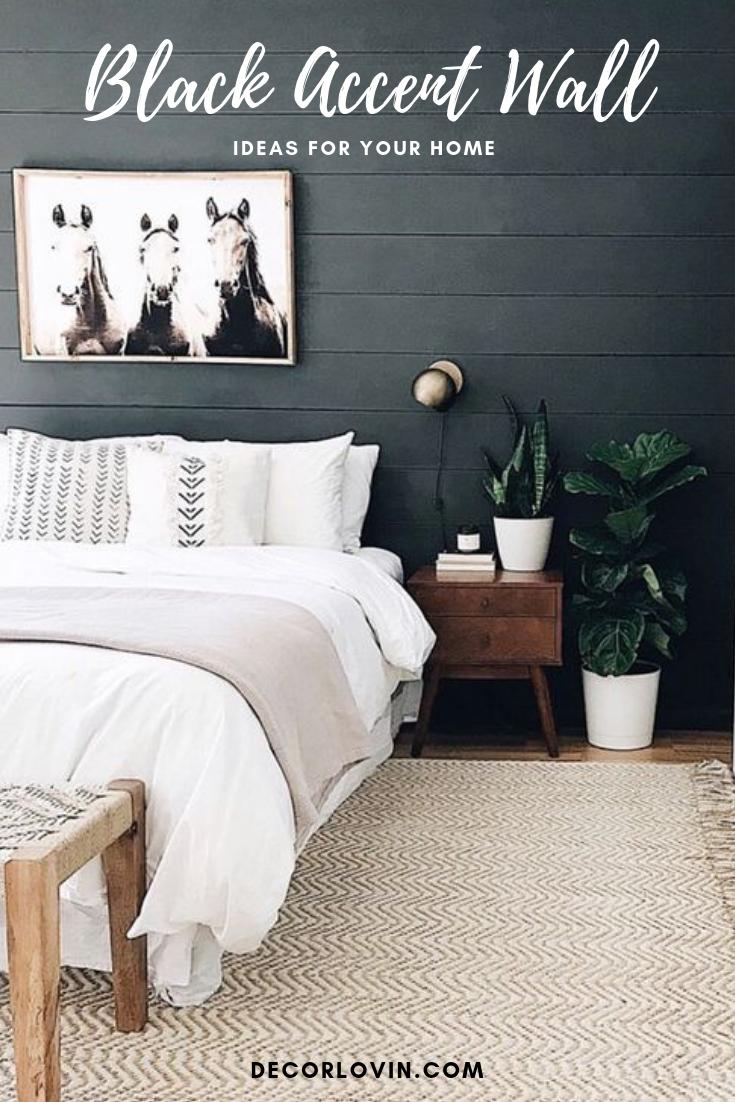Black Accent Wall Bedroom Hmdcrtn