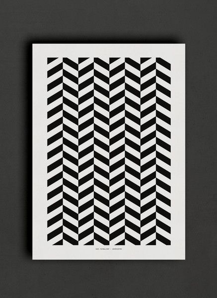 Black white geometric poster the wall shop www thewallshop co