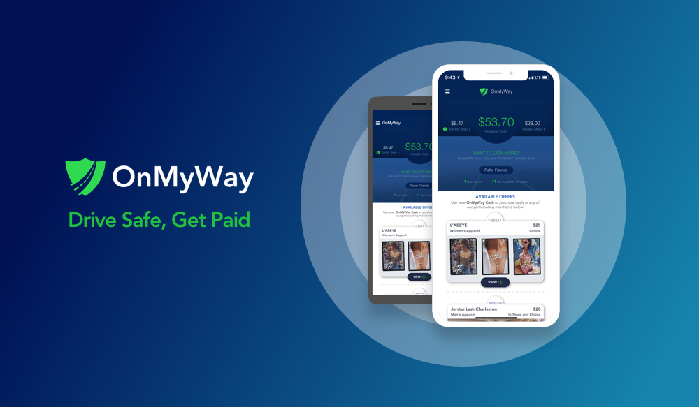 OnMyWay Drive Safe, Get Paid (With images) Drive safe