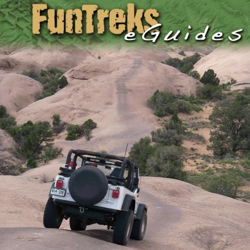 Off Road Trail Maps With Images Jeep Trails Utah Travel Moab
