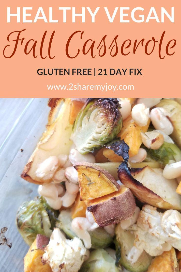 Vegan Fall Casserole Recipe Vegan Food Recipes Vegan
