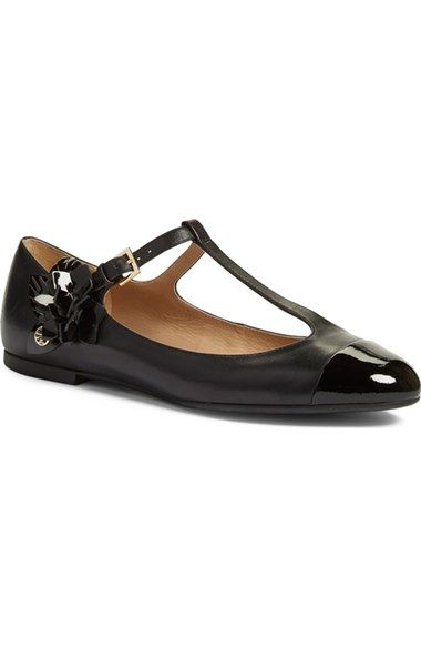 c36c5a2812f Tory Burch  Blossom  T-Strap Flat (Women) available at  Nordstrom ...