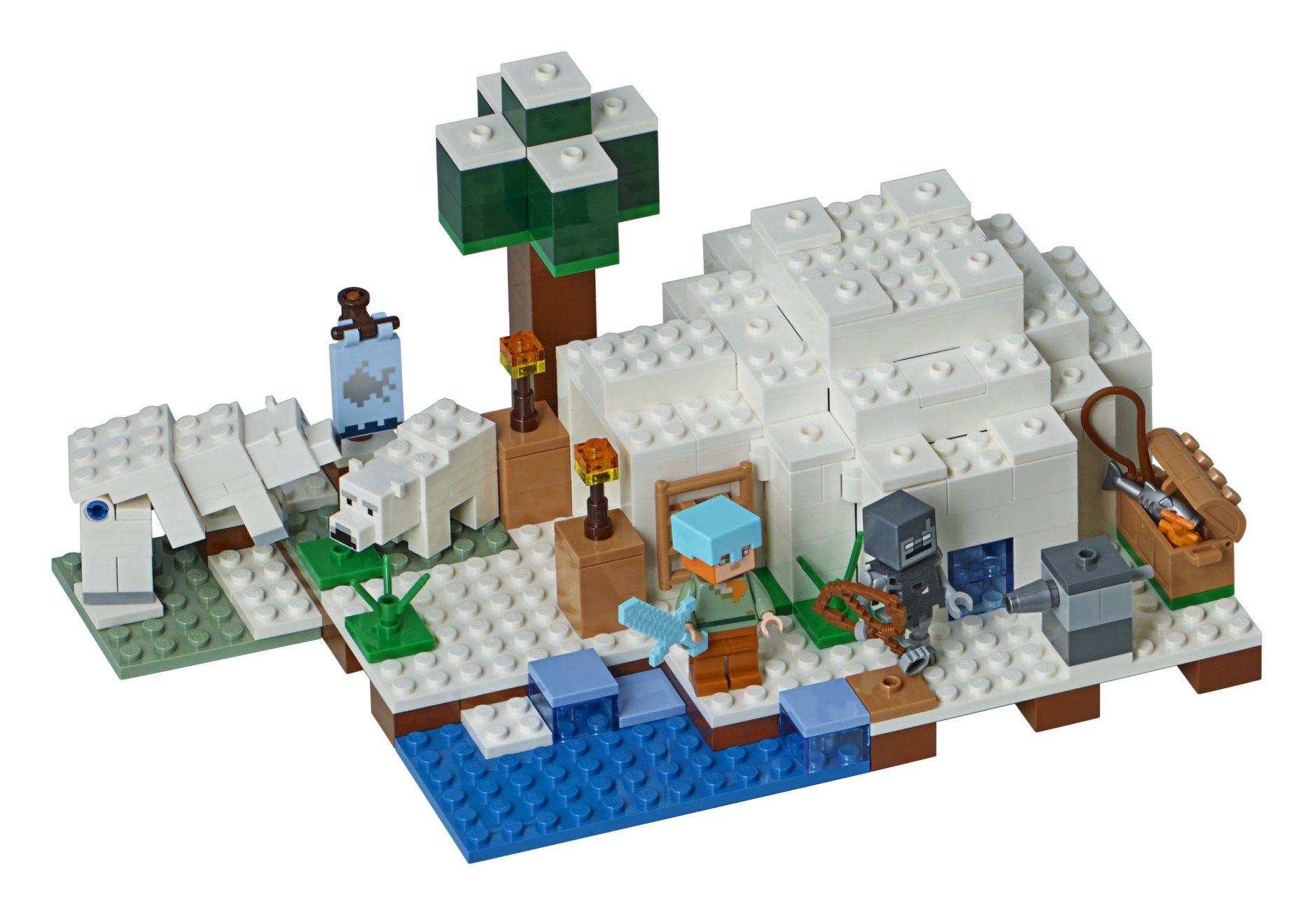 Lego Minecraft 2018 Sets Revealed News Lego Minecraft Lego